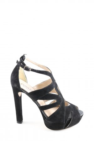 Conleys High Heels schwarz Casual-Look