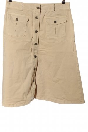 Conleys Gonna di jeans crema stile casual