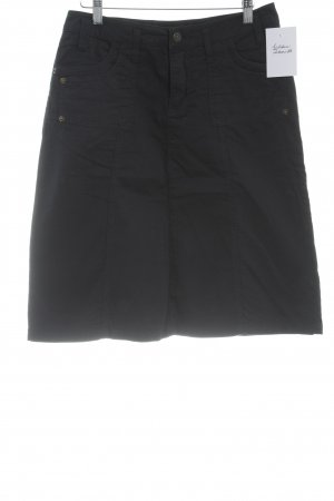 Conleys High Waist Rock dunkelblau Casual-Look