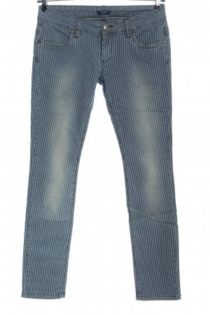 Conleys Low Rise Jeans blue allover print casual look