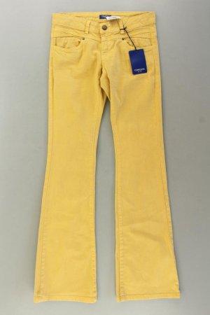 Conleys Denim Flares yellow-neon yellow-lime yellow-dark yellow cotton