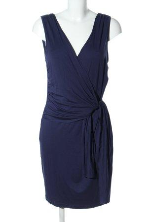 Conleys Jerseykleid blau Business-Look