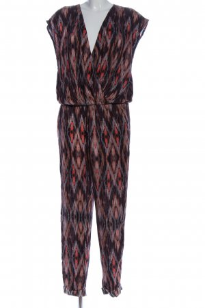 Conleys Jumpsuit Allover-Druck Casual-Look