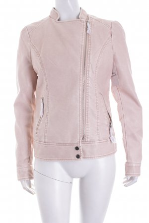Conleys Faux Leather Jacket pink