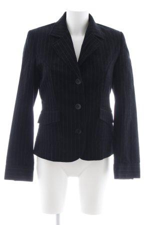 Conleys Korte blazer zwart-grijs zakelijke stijl