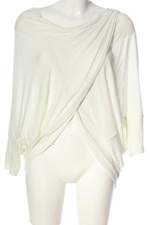 Conleys Camicetta a maniche corte bianco stile casual