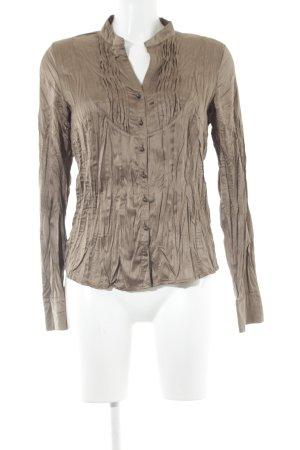 Conleys Langarm-Bluse graubraun Elegant