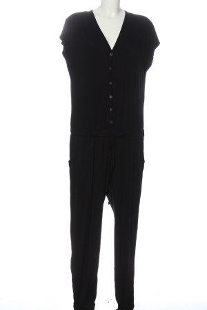 Conleys Langer Jumpsuit schwarz Casual-Look