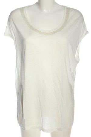 Conleys Long Shirt white-natural white viscose