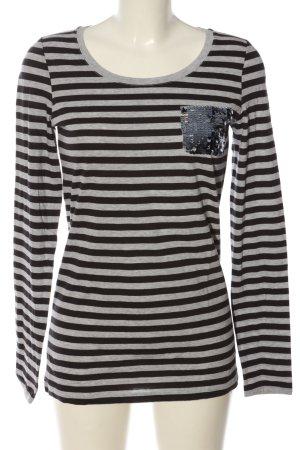 Conleys Longsleeve light grey-black allover print casual look