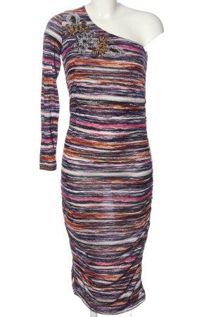 Conleys Midi Dress striped pattern elegant