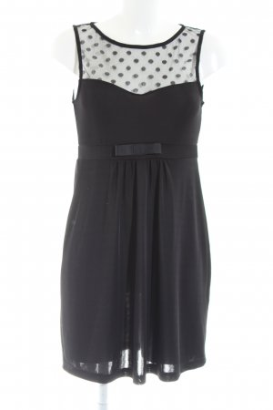 Conleys Minikleid schwarz Punktemuster Elegant