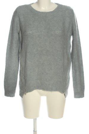Conleys Maglione girocollo grigio chiaro stile casual