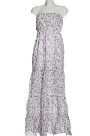 Conleys schulterfreies Kleid Allover-Druck Elegant
