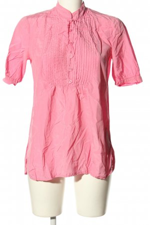 Conleys Seidenbluse pink Casual-Look