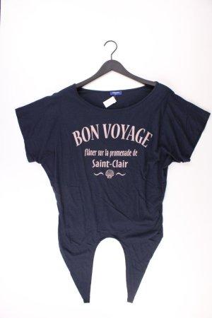 Conleys Shirt Größe M blau aus Baumwolle