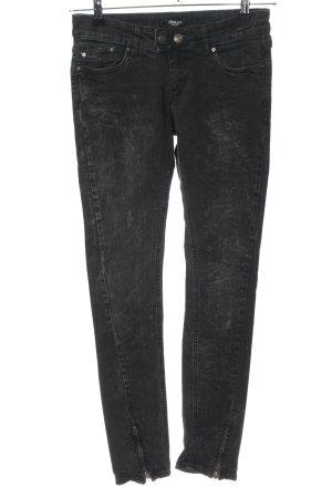 Conleys Skinny Jeans schwarz Casual-Look