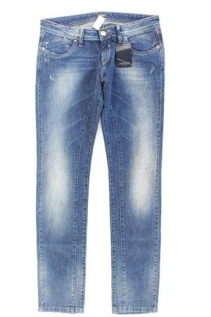 Conleys Skinny Jeans blue-neon blue-dark blue-azure cotton