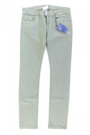 Conleys Skinny Jeans olive green cotton
