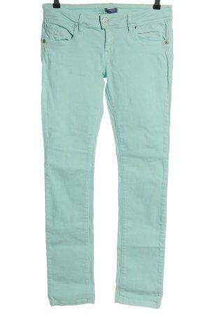Conleys Slim Jeans türkis Casual-Look