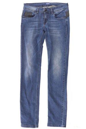 Conleys Straight Leg Jeans blue-neon blue-dark blue-azure cotton