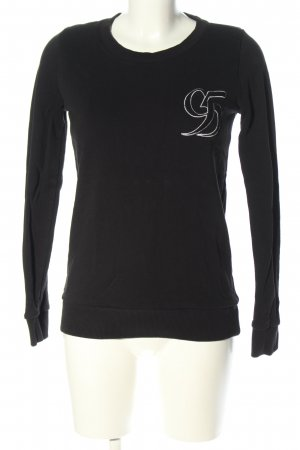 Conleys Sweatshirt schwarz Casual-Look