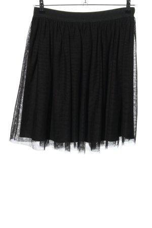 Conleys Falda de tul negro look casual