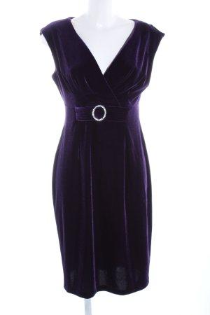 Connected Apparel Stretch jurk lila elegant