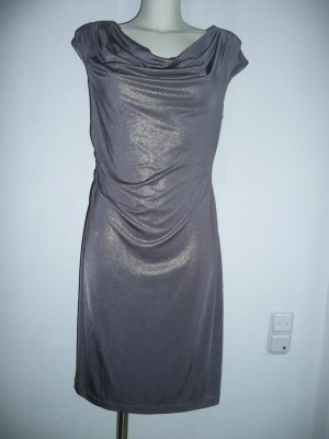 Connected Stretch Dress grey polyester