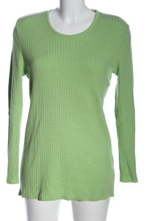 Connemara Maglione lungo verde stile casual
