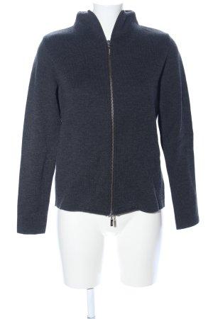 Connemara Wolljacke blau meliert Casual-Look