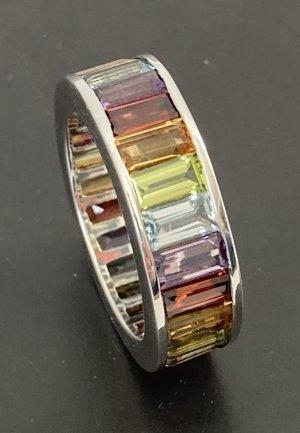 Conny B. Riviere-Ring 925 Silber Edelsteine Gr. 19 (59/60)