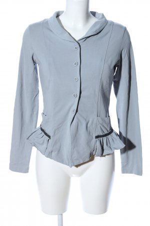 Consequent Blazer in jersey blu stile casual
