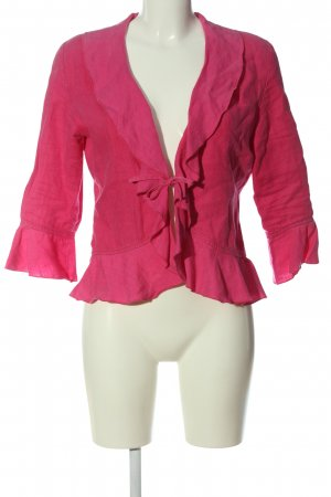 Consequent Long Sleeve Blouse pink casual look