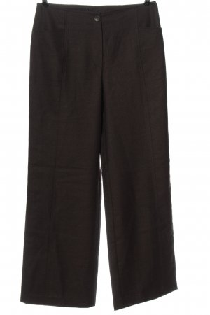 Consequent Jersey Pants brown flecked casual look