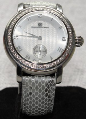 Constantin Weisz Self-Winding Watch silver-colored-grey