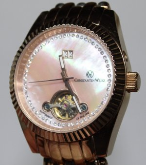 Constantin Weizs Self-Winding Watch rose-gold-coloured