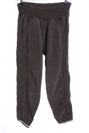 Container Jersey Pants bronze-colored casual look