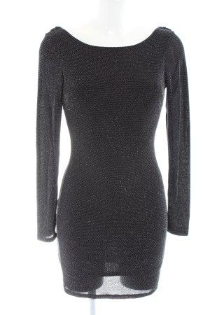 Contempo Mini Dress black glittery