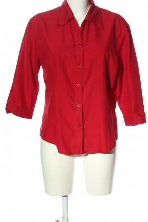 Contempo Long Sleeve Shirt red business style