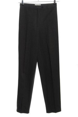 Contento Pantalone di lana nero stile professionale