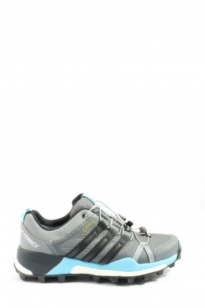 Continental Lace-Up Sneaker light grey-black casual look