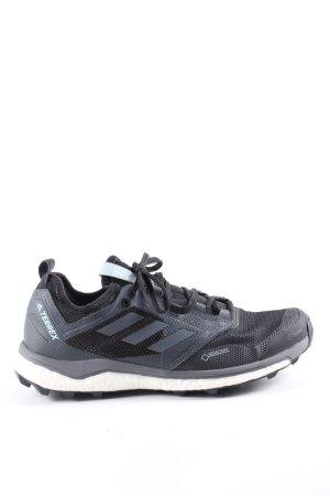 Continental Sneaker stringata grigio chiaro-nero Stampa a tema stile atletico