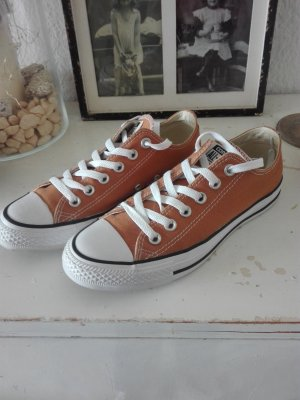 Converse Lace-Up Sneaker sand brown-gold orange