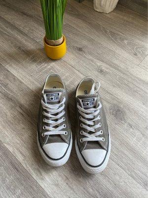 Converse Sneakers met hak grijs