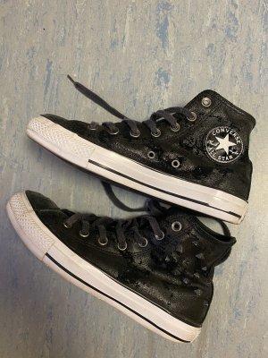 Converse Gumowe buty czarny