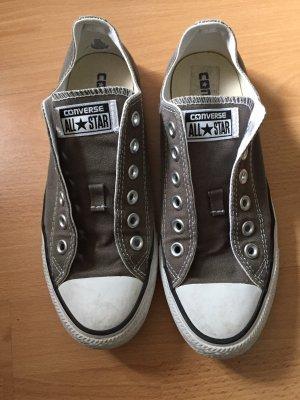 Converse Lace-Up Sneaker grey-khaki