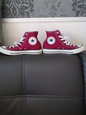 Converse High Top Sneaker raspberry-red