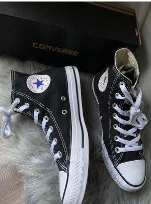 Converse Zapatos de patinador negro-blanco