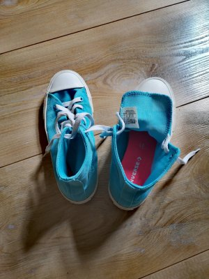 Converse Skater Shoes turquoise